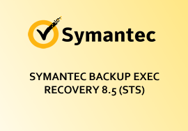 SYMANTEC BACKUP EXEC RECOVERY 8.5 (STS)