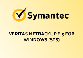 VERITAS NETBACKUP 6.5 FOR WINDOWS (STS)