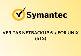 VERITAS NETBACKUP 6.5 FOR UNIX (STS)